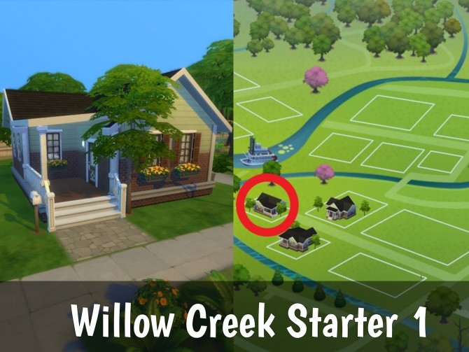 Willow Creek Starter 1 (No CC) at Mod The Sims image 392 670x503 Sims 4 Updates