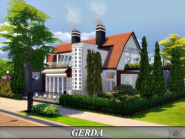 Gerda house by Danuta720 at TSR image 4014 Sims 4 Updates