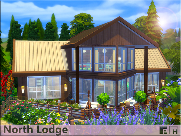 North Lodge by Pinkfizzzzz at TSR image 4102 Sims 4 Updates
