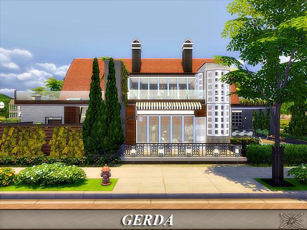 Gerda house by Danuta720 at TSR image 4215 Sims 4 Updates