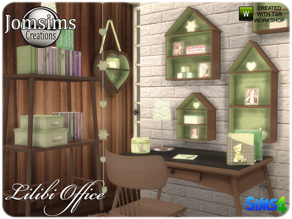 Lilibi office by jomsims at TSR image 427 Sims 4 Updates
