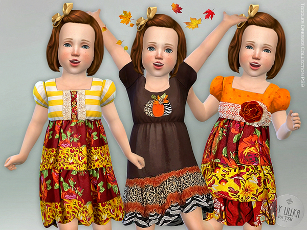 Sims 4 Dresses Collection P39 by lillka at TSR