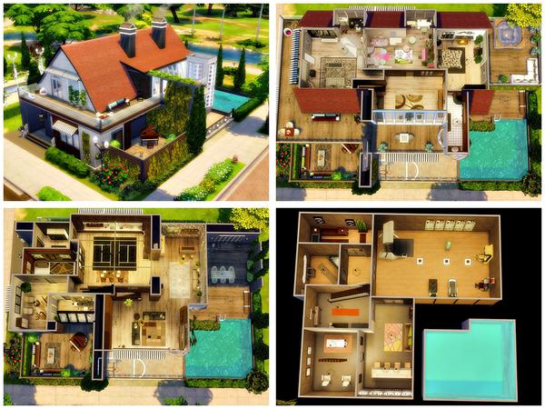 Gerda house by Danuta720 at TSR image 4313 Sims 4 Updates