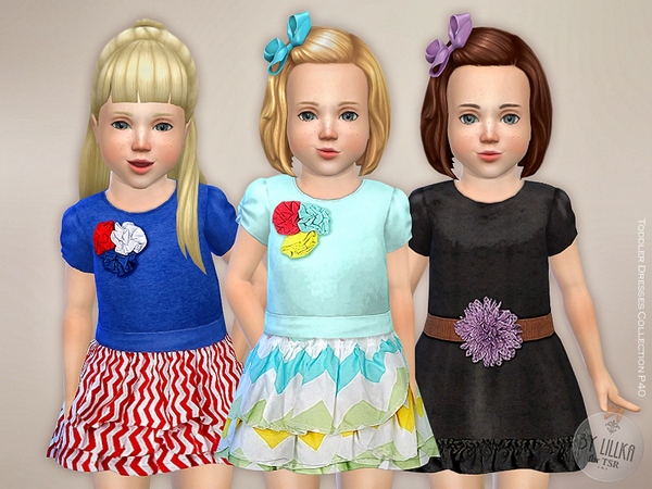 Sims 4 Dresses Collection P40 by lillka at TSR