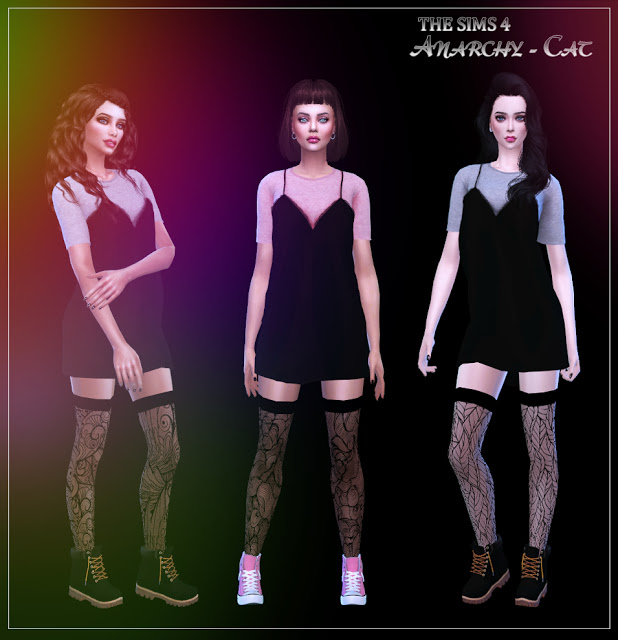 Socks #10 at Anarchy Cat image 452 Sims 4 Updates