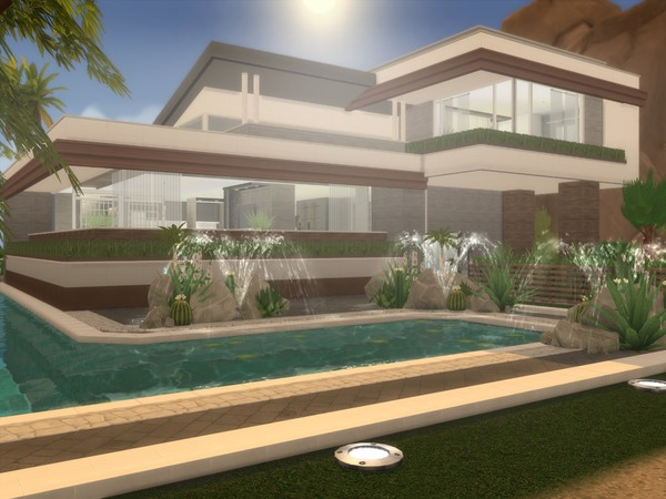 Modern Ayla house by Suzz86 at TSR image 46 Sims 4 Updates