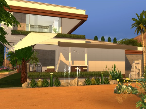 Modern Ayla house by Suzz86 at TSR image 47 Sims 4 Updates