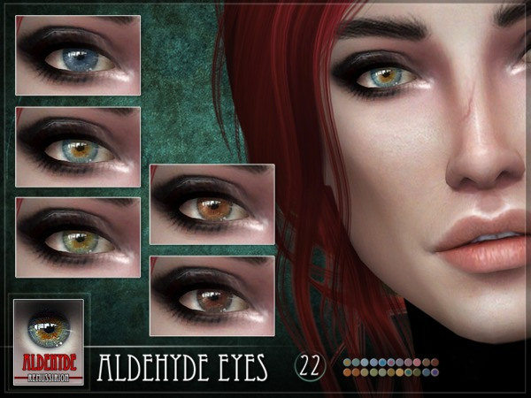 Aldehyde Eyes by RemusSirion at TSR image 5014 Sims 4 Updates