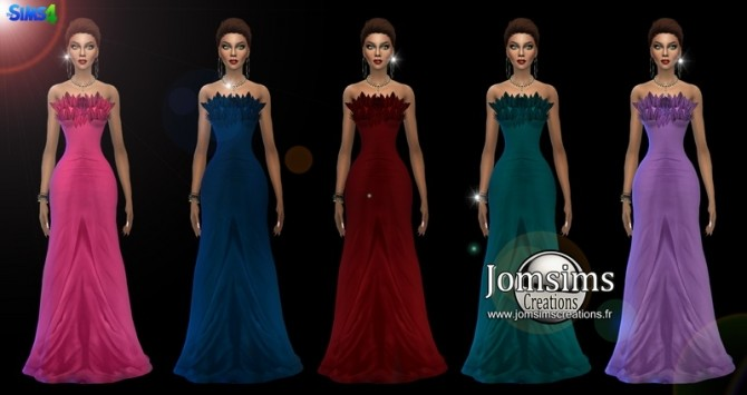 Leafysia Dress at Jomsims Creations image 5110 670x355 Sims 4 Updates