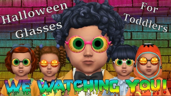 Halloween Glasses for Toddlers at Seger Sims image 523 670x377 Sims 4 Updates