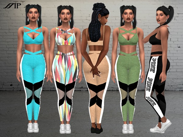 Mp Electra Sport Outfit By Martyp At Tsr 187 Sims 4 Updates
