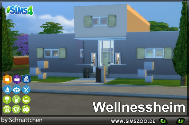Sims 4 Wellness home by Schnattchen at Blacky's Sims Zoo