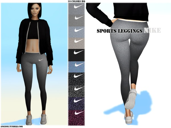 Sport Leggings By Angissi At Tsr 187 Sims 4 Updates