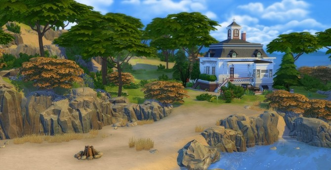 Sims 4 HOCUS POCUS Max and Dani's House at Akisima