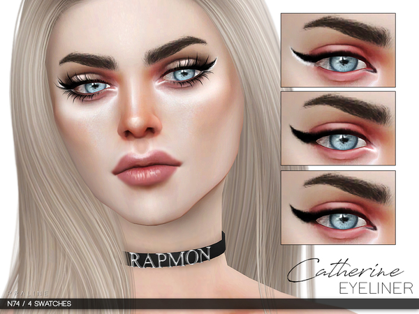 Catherine Eyeliner N74 by Pralinesims at TSR image 610 Sims 4 Updates