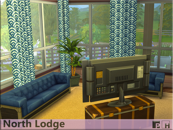 North Lodge by Pinkfizzzzz at TSR image 6101 Sims 4 Updates