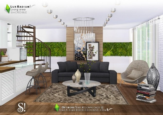 Lux Radium living area 13 meshes at SIMcredible! Designs 4 image 6112 670x474 Sims 4 Updates