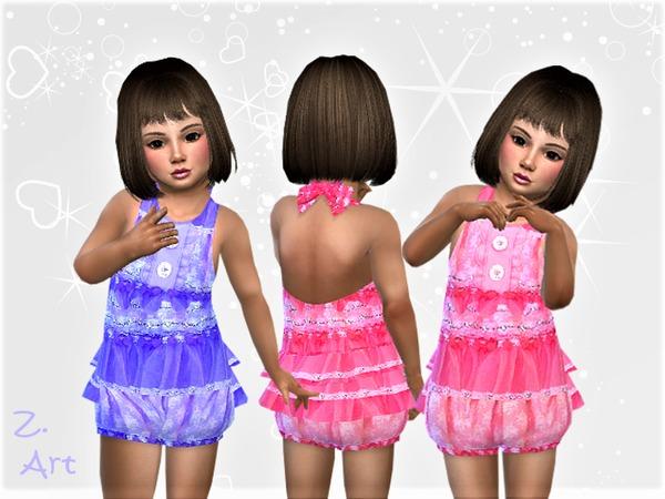 Sims 4 BabeZ 35 jumpsuit by Zuckerschnute20 at TSR