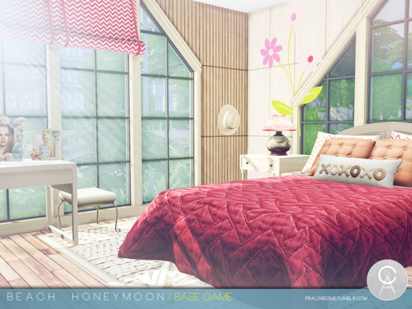 Sims 4 Beach Honeymoon by Pralinesims at TSR