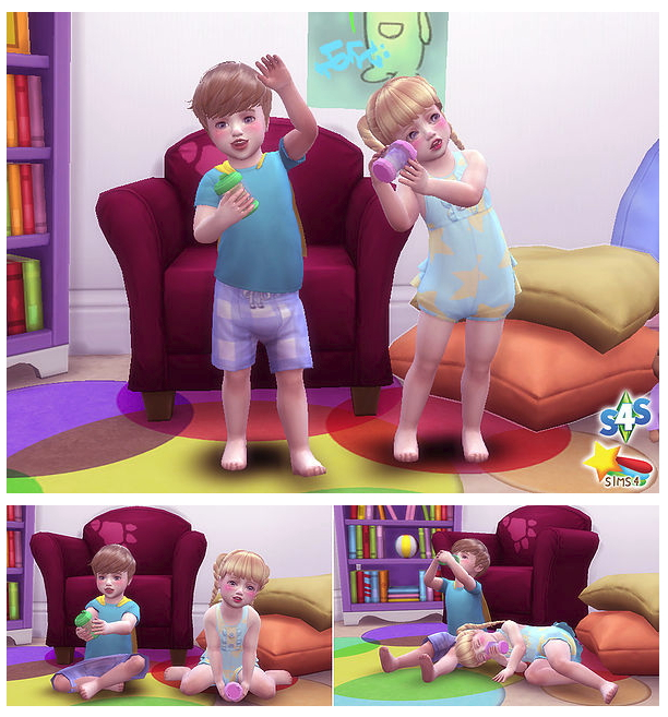 Dink pose toddler at A luckyday image 633 Sims 4 Updates