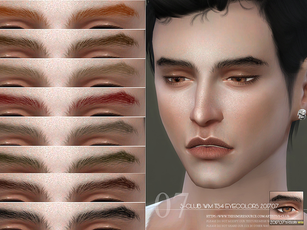 Eyebrows M 201707 by S Club WM at TSR image 634 Sims 4 Updates