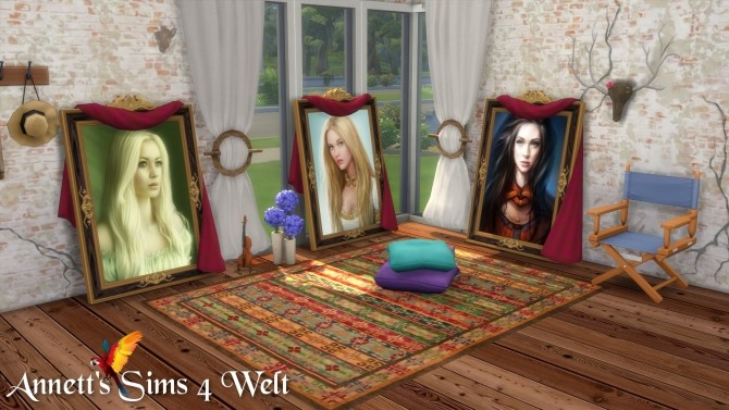 Sims 4 Woman Standing Paintings at Annett's Sims 4 Welt