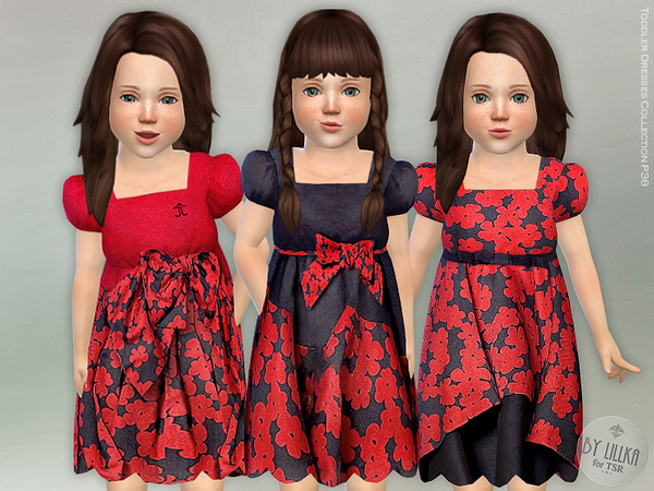 Sims 4 Toddler Dresses Collection P38 by lillka at TSR