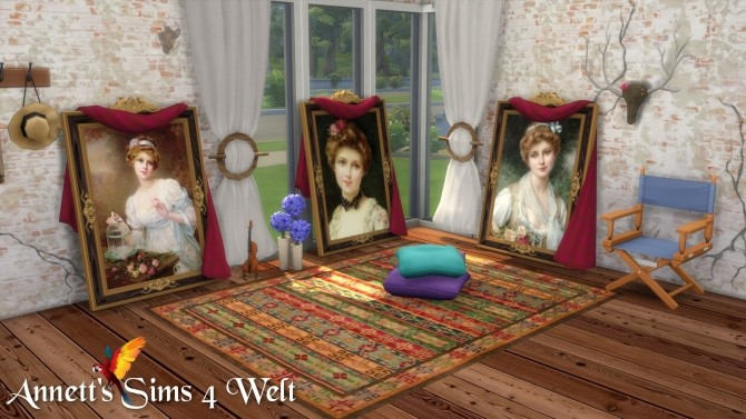 Woman Standing Paintings at Annett's Sims 4 Welt image 645 670x377 Sims 4 Updates