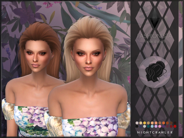 Fashionista hair by Nightcrawler Sims at TSR image 6516 Sims 4 Updates