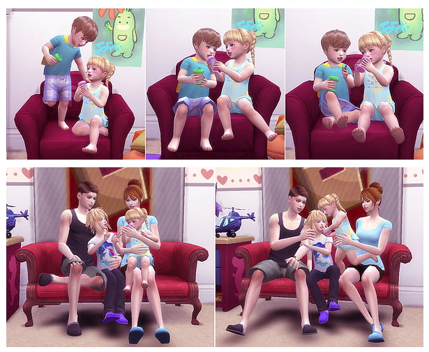 Dink pose toddler at A luckyday image 653 Sims 4 Updates