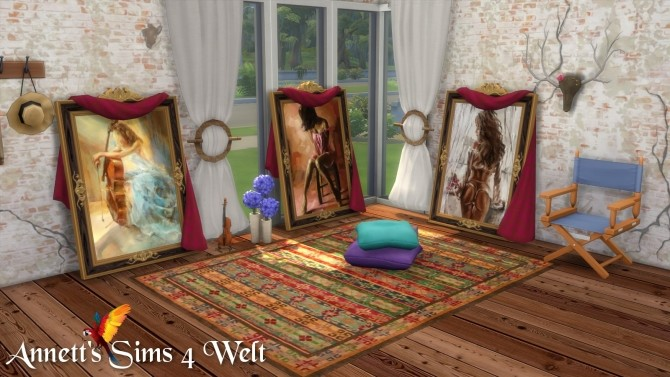 Woman Standing Paintings at Annett's Sims 4 Welt image 656 670x377 Sims 4 Updates