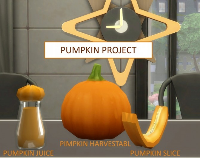 Sims 4 The Pumpkin Project by icemunmun at Mod The Sims