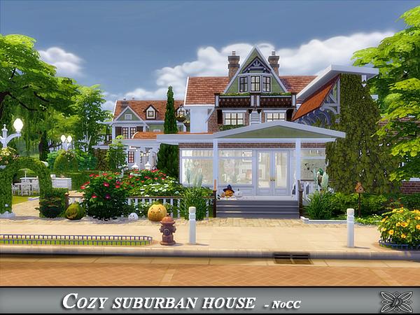Cozy suburban house by Danuta720 at TSR image 7016 Sims 4 Updates