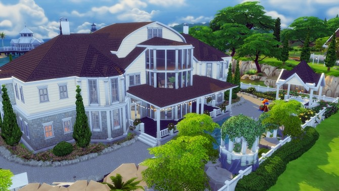 Happy Family Mansion No Cc By Bradybrad7 At Mod The Sims