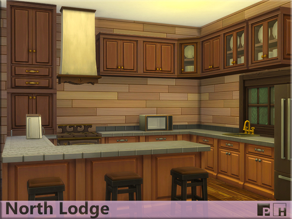North Lodge by Pinkfizzzzz at TSR image 7101 Sims 4 Updates