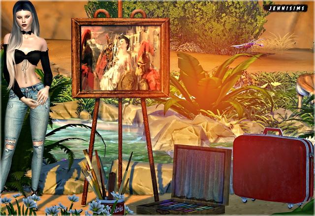 Sims 4 Set Vol 80 Decoratives 4 Items at Jenni Sims