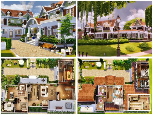 Cozy suburban house by Danuta720 at TSR image 7121 Sims 4 Updates