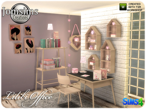 Lilibi office by jomsims at TSR image 720 Sims 4 Updates