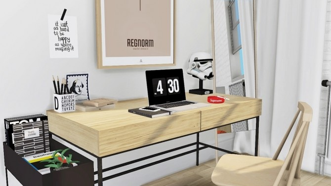 Office set at MXIMS image 732 670x377 Sims 4 Updates