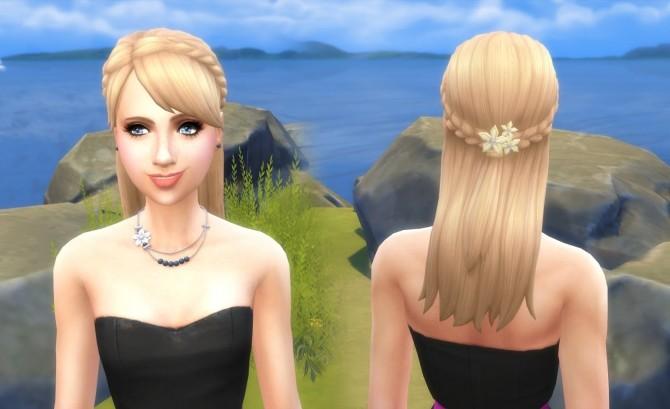 Sims 4 Celebration Braid Conversion at My Stuff