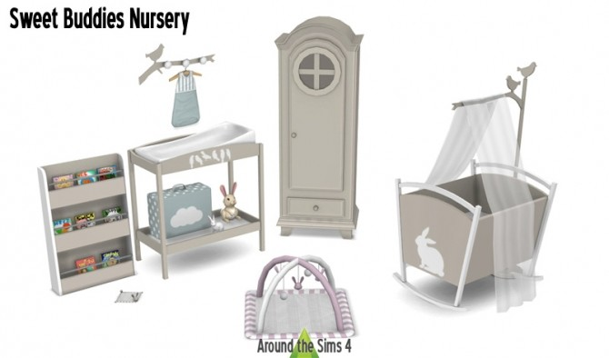 Nursery sims 4 updates best ts4 cc downloads for Sims 4 meuble a telecharger