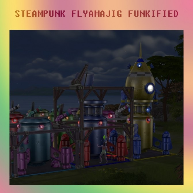 Steampunk Flyamajig Funkified by Simmiller at Mod The Sims image 7711 670x669 Sims 4 Updates