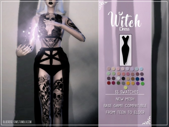 HALLOWEEN PACK AND 700 FOLLOWERS GIFT at BlueRose Sims image 7714 670x503 Sims 4 Updates