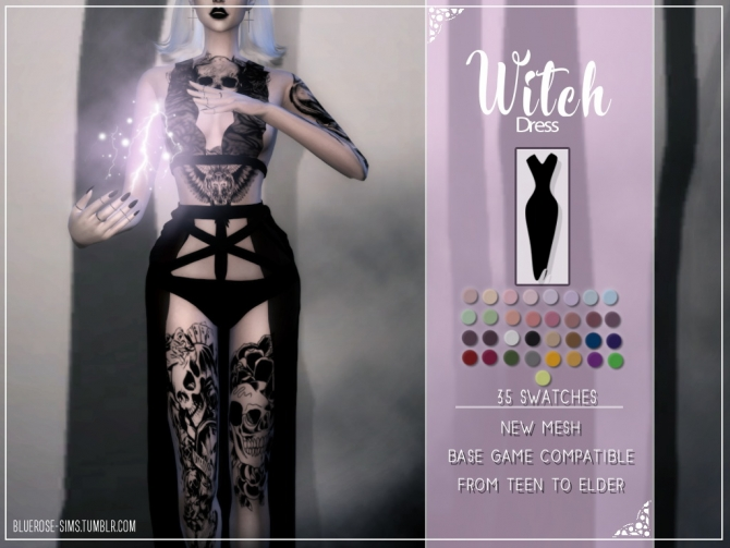 Halloween Pack And 700 Followers Gift At Bluerose Sims