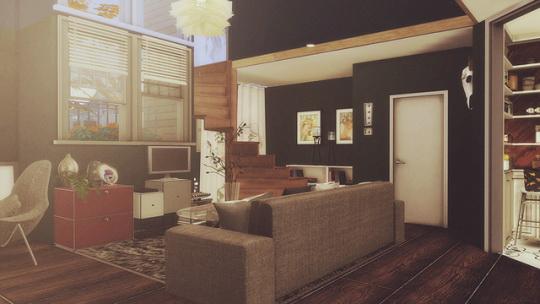 Sims 4 #76 Moonlight house at SoulSisterSims