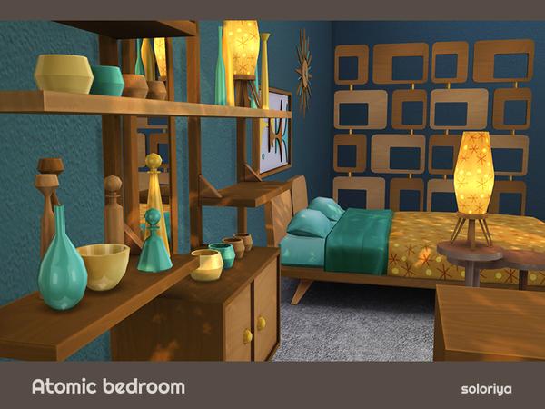 Atomic Bedroom by soloriya at TSR image 784 Sims 4 Updates