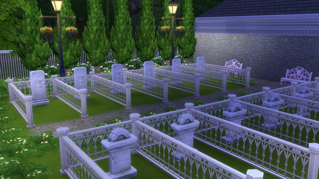 Cemetery at Allis Sims image 805 Sims 4 Updates