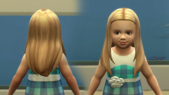 Sims 4 Rebecca Hair for Toddlers at My Stuff