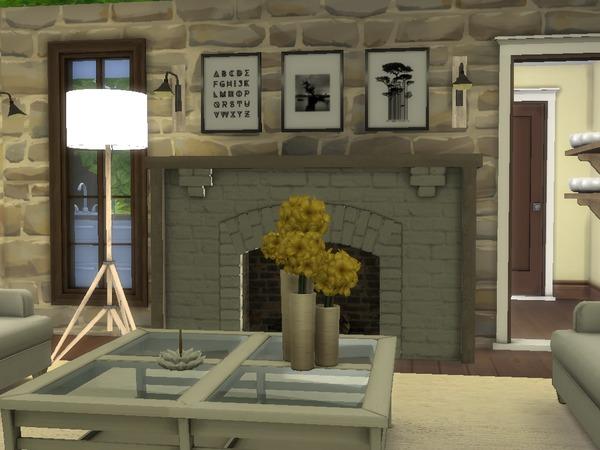 Sims 4 HGTV Dream Home 2012 2.0 by dorienski at TSR