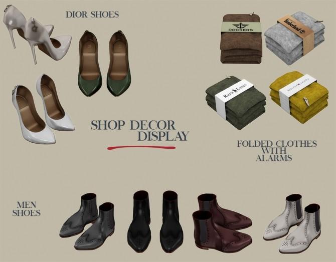 Shop Display Decor at Leo Sims image 8212 670x523 Sims 4 Updates